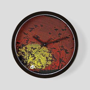 Bloody Sunrise Wall Clock