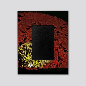 Bloody Sunrise Picture Frame