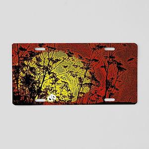 Bloody Sunrise Aluminum License Plate