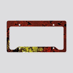 Bloody Sunrise License Plate Holder