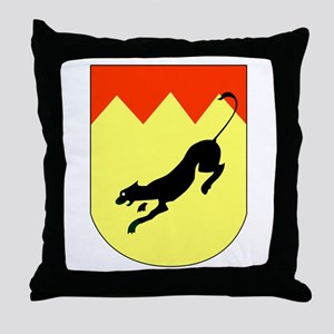 5. Staffel SG 77 Throw Pillow