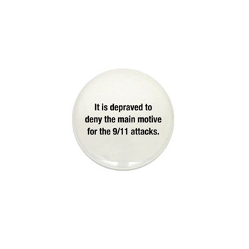 It is depraved to deny button (10 Pack)