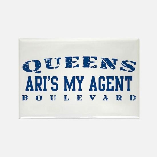 Ari's My Agent - Queens Blvd Rectangle Magnet