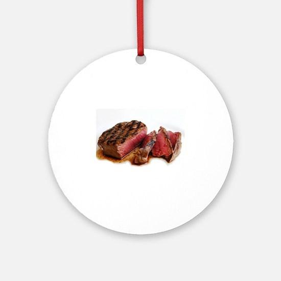 Steak Ornament (Round)