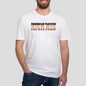 Mandolin Players Kick Ass Fitted T-Shirt