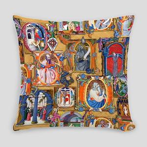 Medieval Illuminations Master Pillow