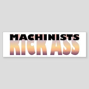 Machinists Kick Ass Bumper Sticker