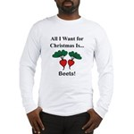 Christmas Beets Long Sleeve T-Shirt