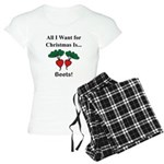 Christmas Beets Women's Light Pajamas