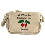 Christmas Beets Messenger Bag