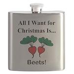 Christmas Beets Flask