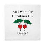 Christmas Beets Queen Duvet
