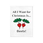 Christmas Beets 5'x7'Area Rug