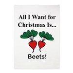 Christmas Beets 5'x7'Area Rug