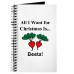 Christmas Beets Journal