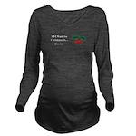 Christmas Beets Long Sleeve Maternity T-Shirt