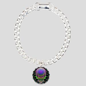 Crazy Skull Psychedelic Explosion Bracelet