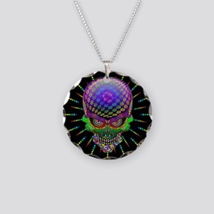 Crazy Skull Psychedelic Explosion Necklace