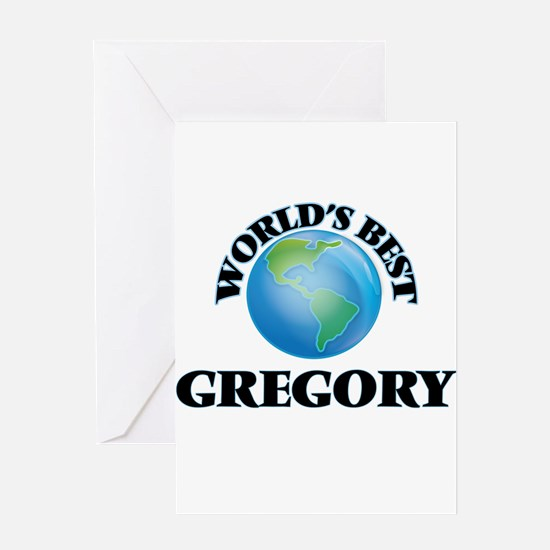World's Best Gregory Greeting Cards