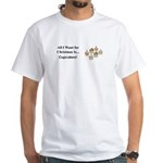 Christmas Cupcakes White T-Shirt
