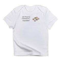 Christmas Cupcakes Infant T-Shirt