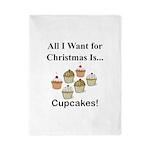 Christmas Cupcakes Twin Duvet