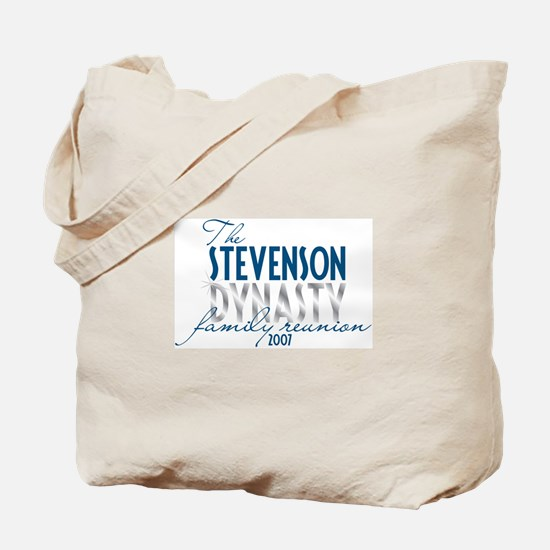 STEVENSON dynasty Tote Bag