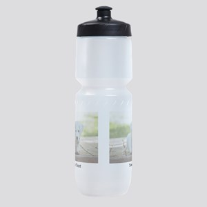 Personalize 2 photos 2 texts Sports Bottle
