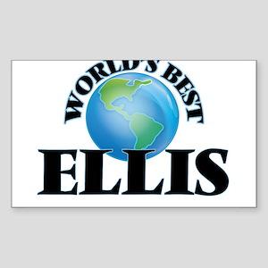 World's Best Ellis Sticker