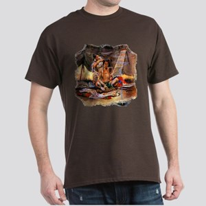 Native American Couple Dark T-Shirt