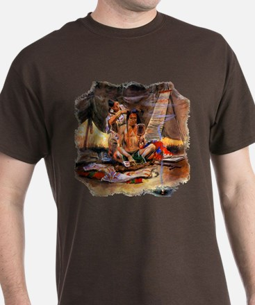 Native American Couple T-Shirt