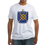 USS EATON Fitted T-Shirt