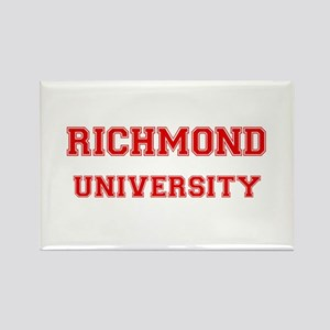 RICHMOND UNIVERSITY Rectangle Magnet