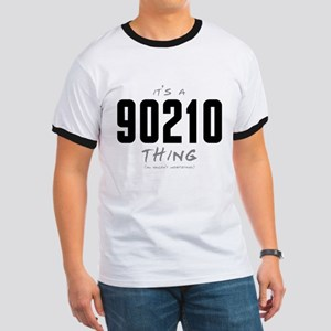 It's a 90210 Thing Ringer T-Shirt