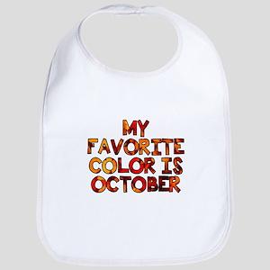 My favorite color is October Bib