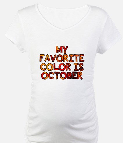 My favorite color is October Shirt