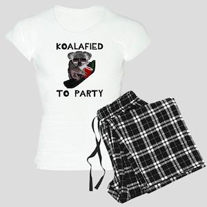 Koalafied to Party Women's Light Pajamas