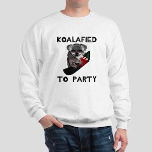 Koalafied to Party Sweatshirt