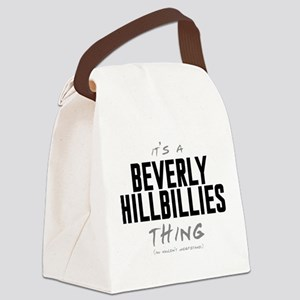It's a Beverly Hillbillies Thing Canvas Lunch Bag
