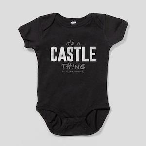 It's a Castle Thing Baby Bodysuit