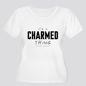 It's a Charmed Thing Women's Plus Size Scoop Neck