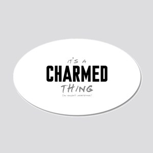 It's a Charmed Thing 22x14 Oval Wall Peel