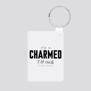 It's a Charmed Thing Aluminum Photo Keychain
