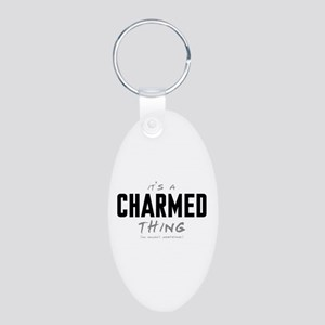 It's a Charmed Thing Aluminum Oval Keychain