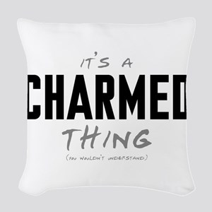 It's a Charmed Thing Woven Throw Pillow