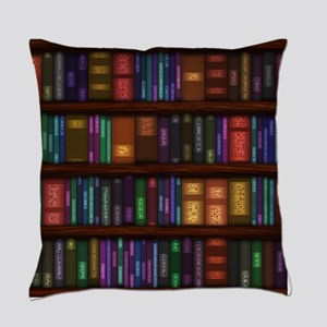 Old Bookshelves Master Pillow