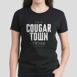 It's a Cougar Town Thing Women's Dark T-Shirt