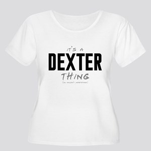 It's a Dexter Thing Women's Plus Size Scoop Neck T