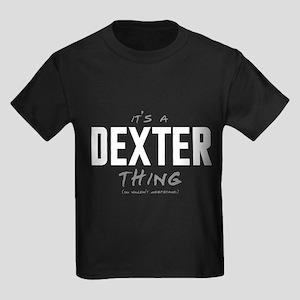 It's a Dexter Thing Kids Dark T-Shirt