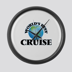 World's Best Cruise Large Wall Clock